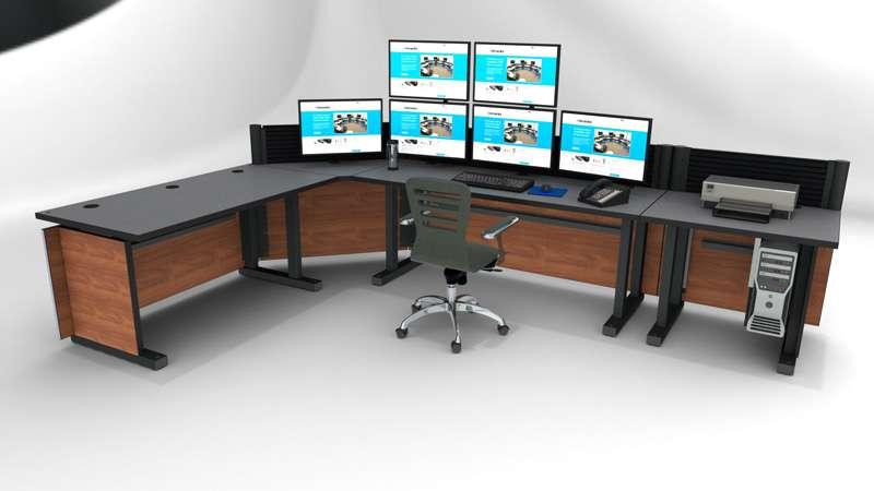 Deluxe Control Room Noc Furniture 2017 – 17