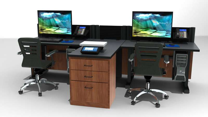 Deluxe Control Room Furniture Cardinal Corp REV B