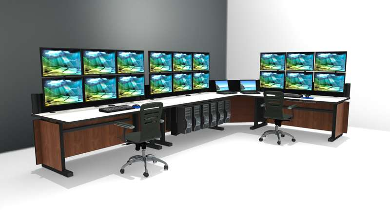 Deluxe Control Room Noc Furniture 2017 – 20