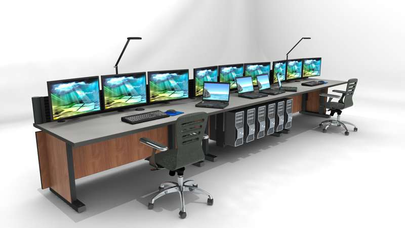 Deluxe Control Room Noc Furniture 2017 – 21