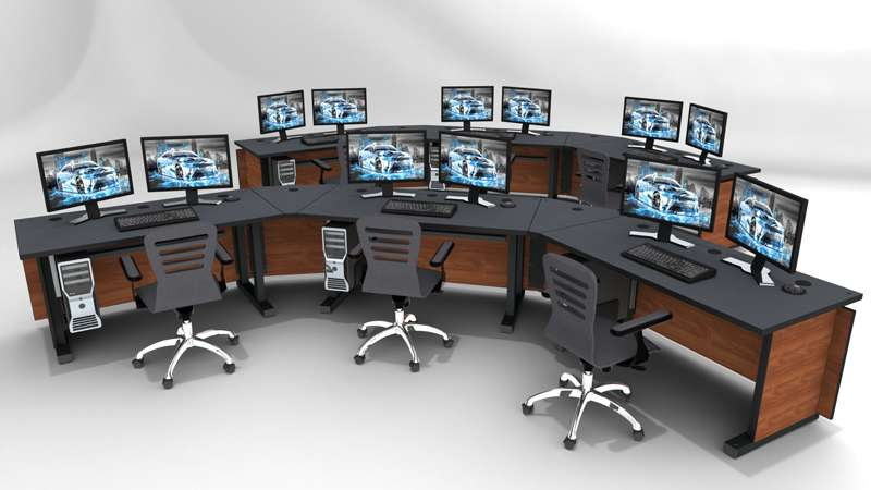 Deluxe Control Room Noc Furniture 2017 – 22