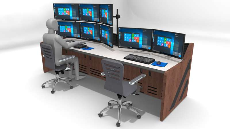 Deluxe Control Room Noc Furniture 2017 – 23