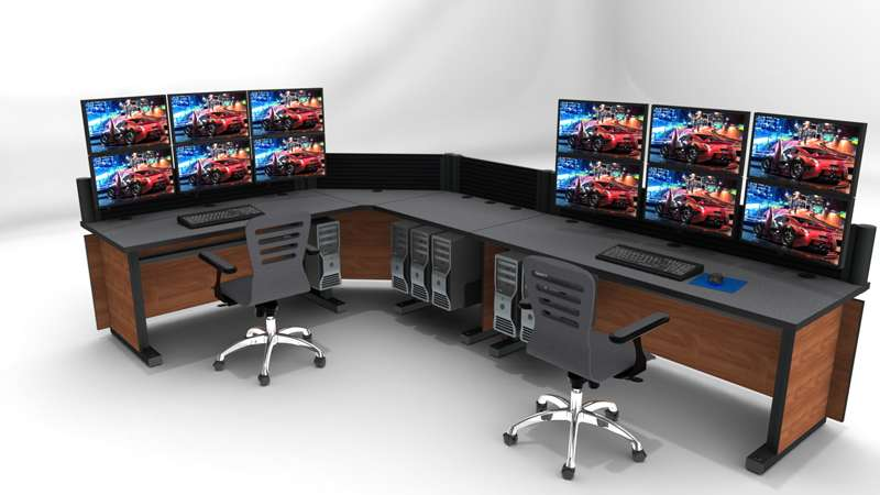 Deluxe Control Room Noc Furniture 2017 – 25
