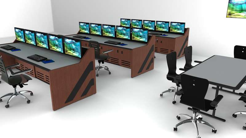 Enterprise Control Room NOC Furniture 2017 7