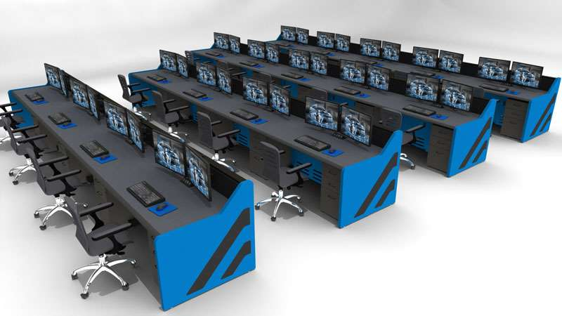 Enterprise Control Room NOC Furniture 2017 8