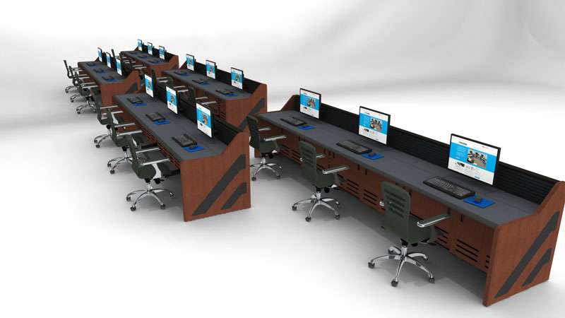 Enterprise Control Room NOC Furniture 2017 9