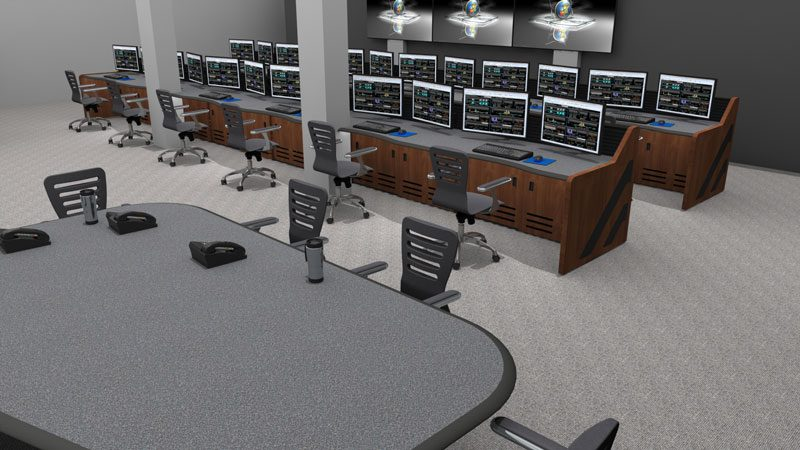 Enterprise Control Room NOC Furniture 2017 11