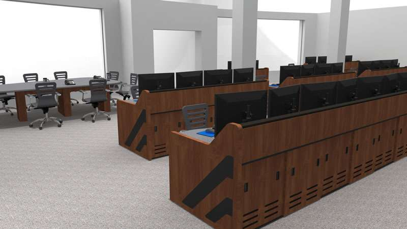 Enterprise Control Room NOC Furniture 2017 12