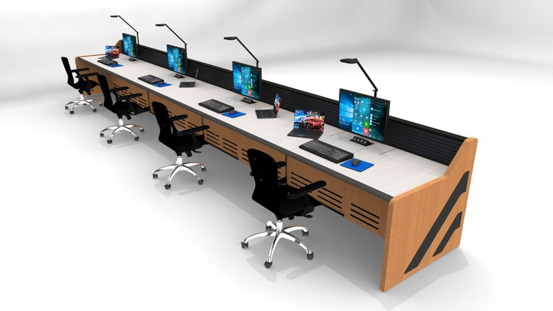 Enterprise Control Room NOC Furniture 2017 13