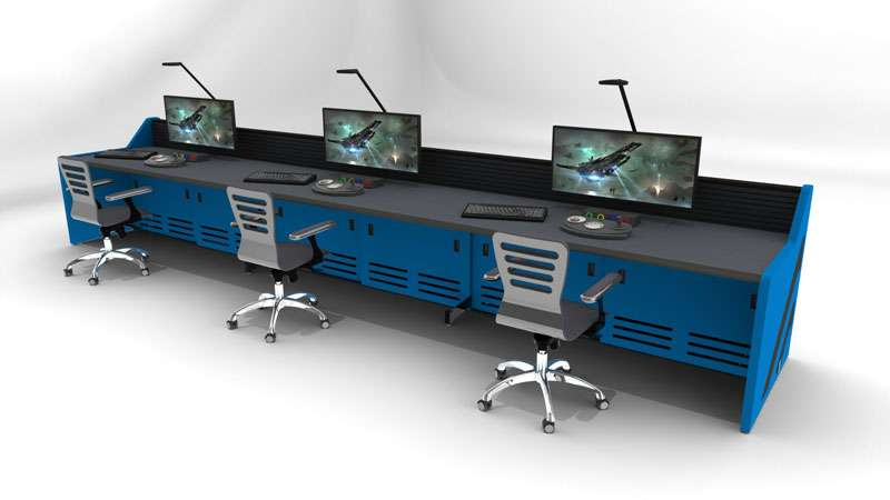 Enterprise Control Room NOC Furniture 2017 14