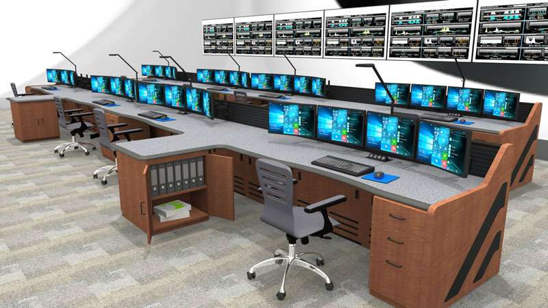 Enterprise Control Room NOC Furniture 2017 18