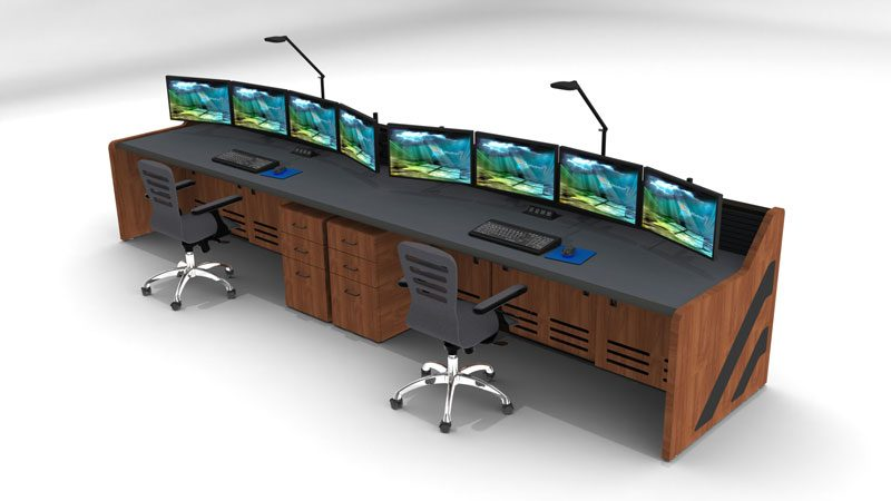 Enterprise Control Room NOC Furniture 2017 19