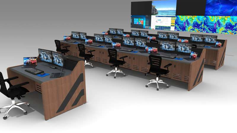 Enterprise Control Room NOC Furniture 2017 22