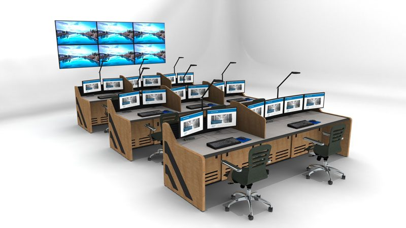 Enterprise Control Room NOC Furniture 2017 23
