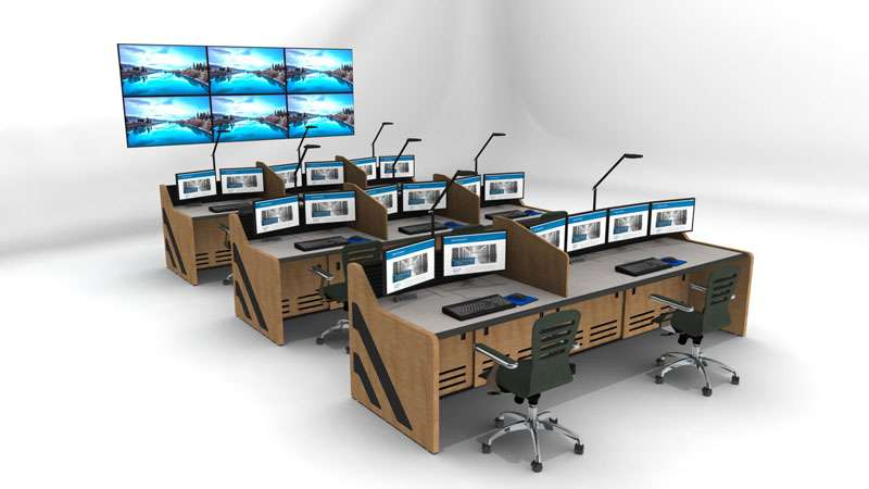 Enterprise Control Room NOC Furniture 2017 23