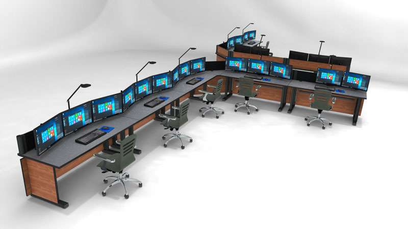 Enterprise Control Room NOC Furniture 2017 26