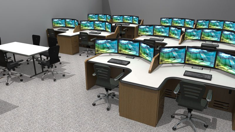 Enterprise Control Room NOC Furniture 2017 24