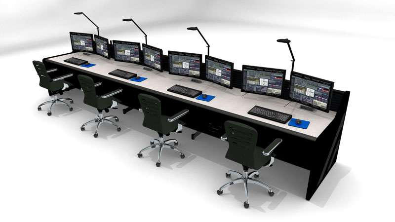 Enterprise Control Room NOC Furniture 2017 27