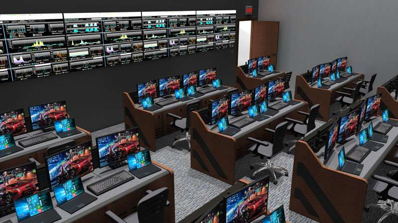 Enterprise Control Room NOC Furniture 2017 28