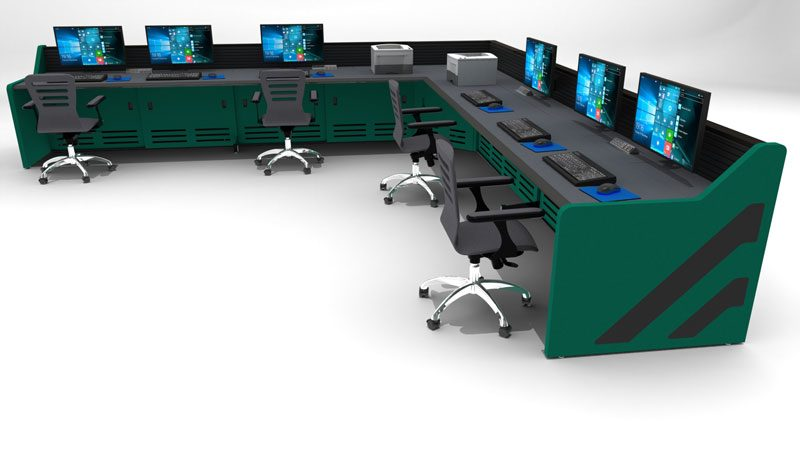 Enterprise Control Room NOC Furniture 2017 29