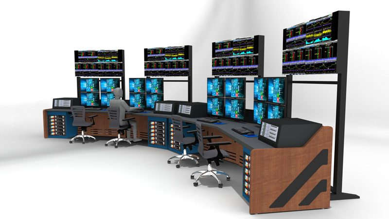 Enterprise Control Room NOC Furniture 2017 32