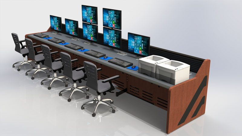 Enterprise Control Room NOC Furniture 2017 33