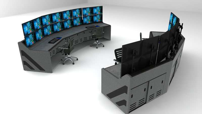 Enterprise Control Room NOC Furniture 2017 34
