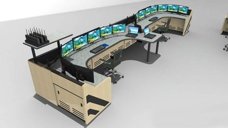 Enterprise Control Room NOC Furniture 2017 35