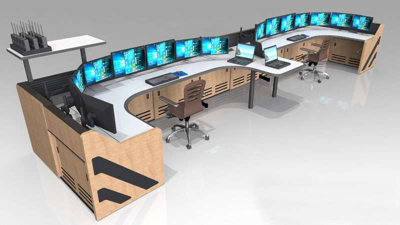 Enterprise Control Room NOC Furniture 2017 36