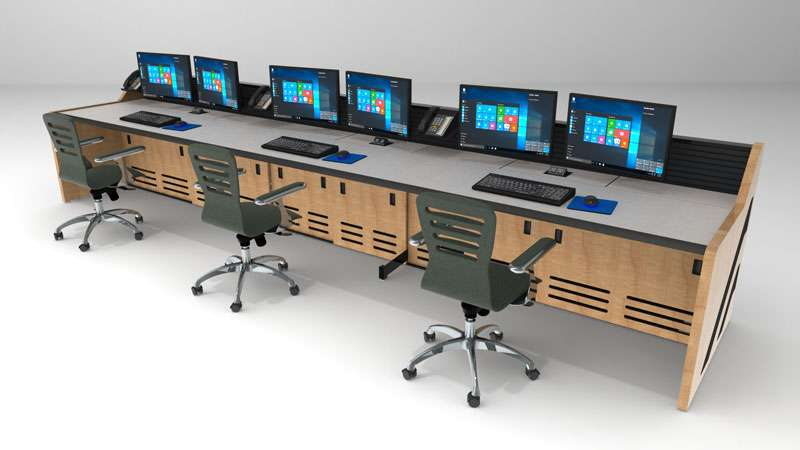 Enterprise Control Room NOC Furniture 2017 37