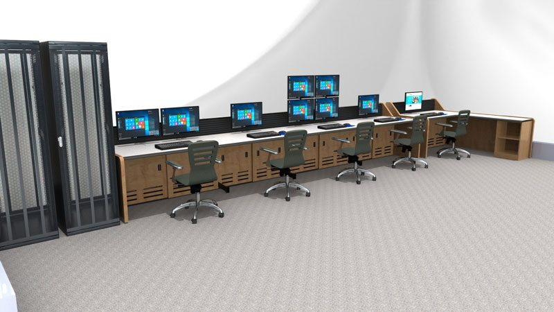 Enterprise Control Room NOC Furniture 2017 44