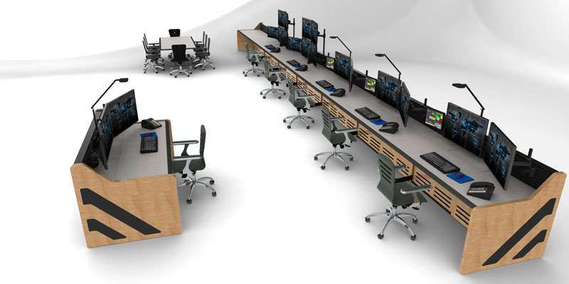 Enterprise Control Room NOC Furniture 2017 39