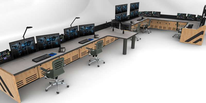 Enterprise Control Room NOC Furniture 2017 40