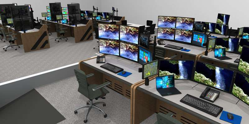 Enterprise Control Room NOC Furniture 2017 42