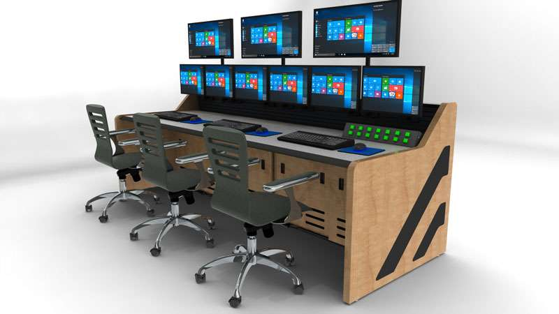 Enterprise Control Room NOC Furniture 2017 43