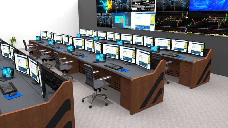 Enterprise Control Room NOC Furniture 2017 45
