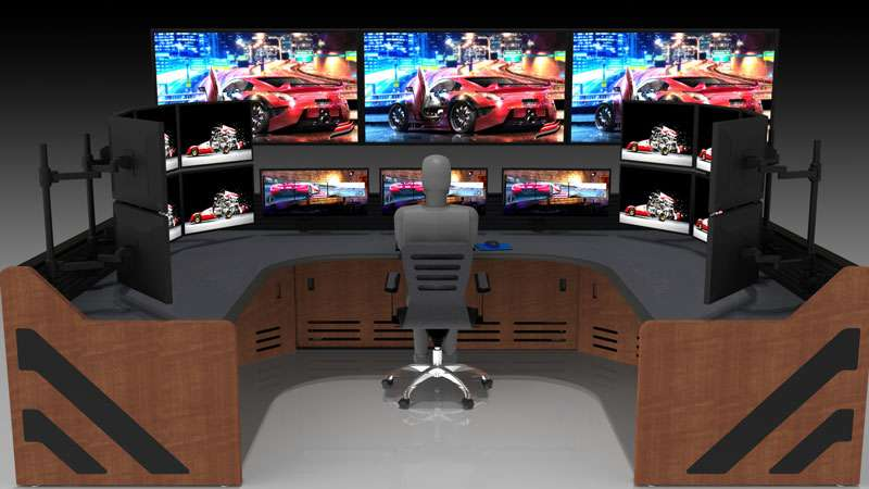 Enterprise Control Room NOC Furniture 2017 46