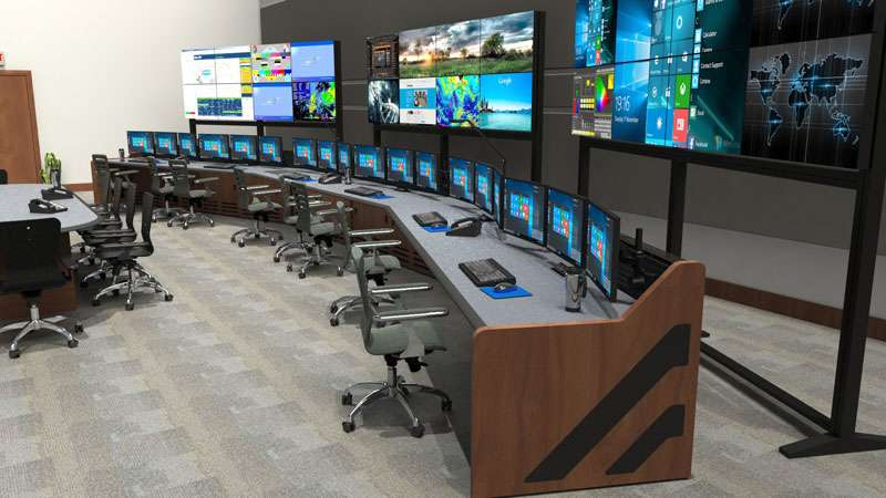 Enterprise Control Room NOC Furniture 2017 47