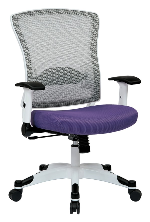 White Frame Managers Chair 5