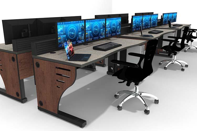 Summit Edge console in control room