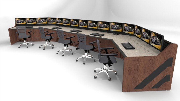 2018 Enterprise Control Room Furniture 10