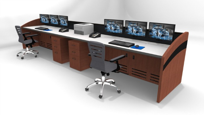 2018 Enterprise Control Room Furniture 11
