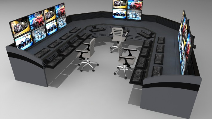2018 Enterprise Control Room Furniture 14