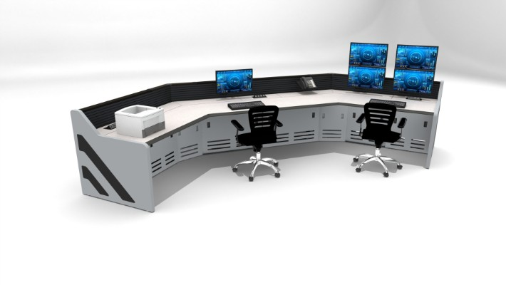2018 Enterprise Control Room Furniture 16