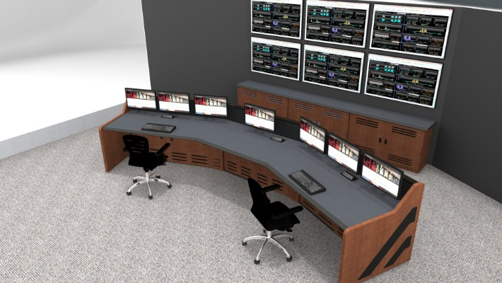 2018 Enterprise Control Room Furniture 18