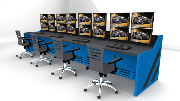 2018 Enterprise Control Room Furniture 20