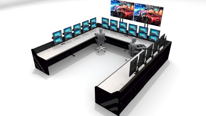 2018 Enterprise Control Room Furniture 21