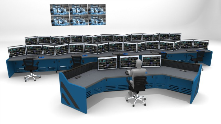 2018 Enterprise Control Room Furniture 24