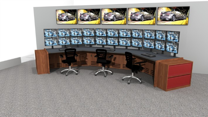 2018 Enterprise Control Room Furniture 25