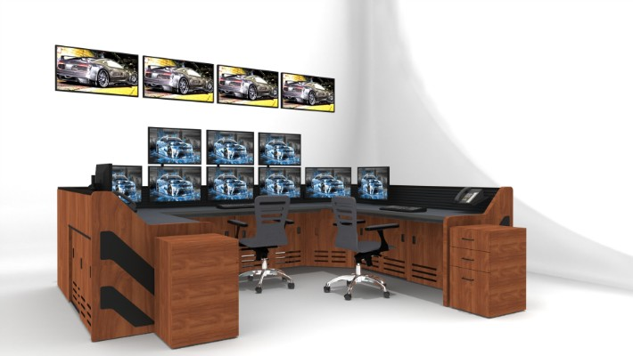 2018 Enterprise Control Room Furniture 26